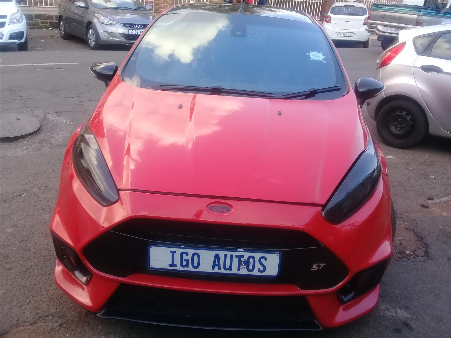 2014 Ford ST Fiesta
