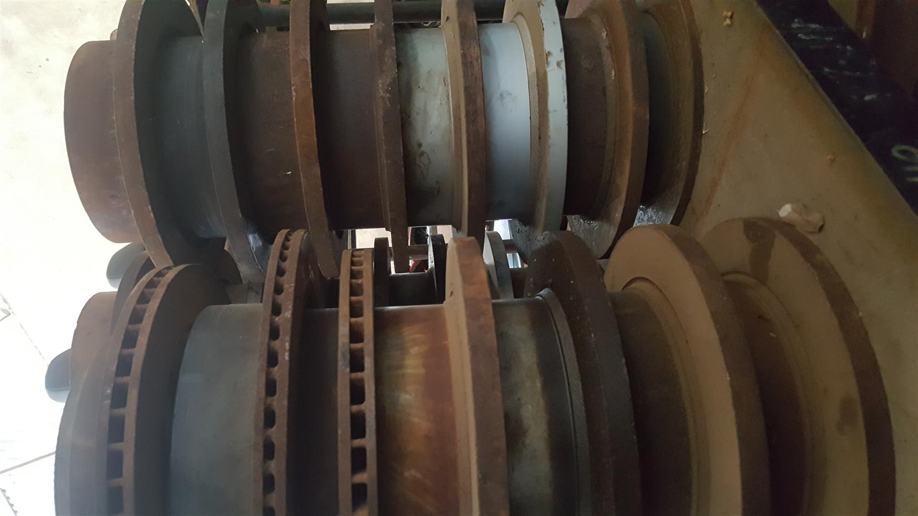 outlander brake disc