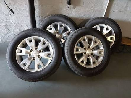 """18"""" Ranger mags and tyres"""