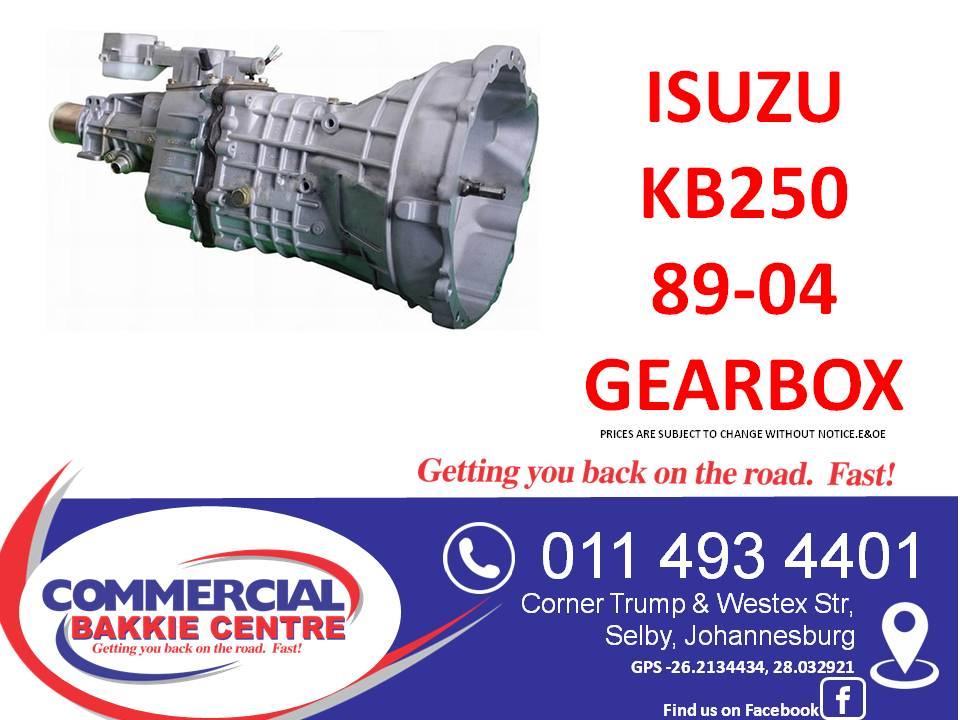 Isuzu 2.5D 4JA1 Gearbox for sale (1989-2004)