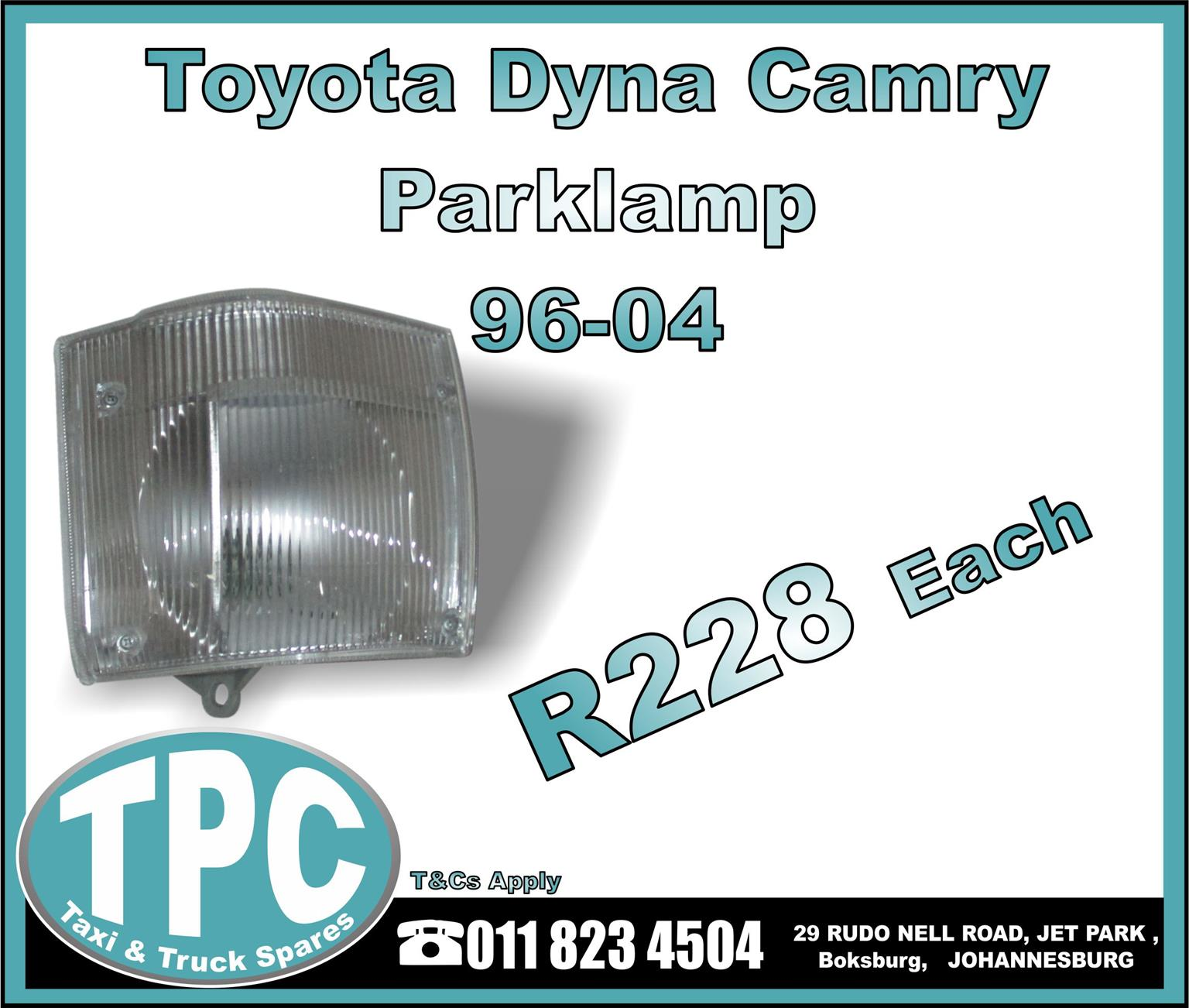 Toyota Dyna Camry Parklamp - 96-04 - New Replacement Truck Body Parts- TPC.