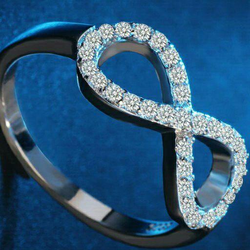 Sterling Silver Infinity Rings