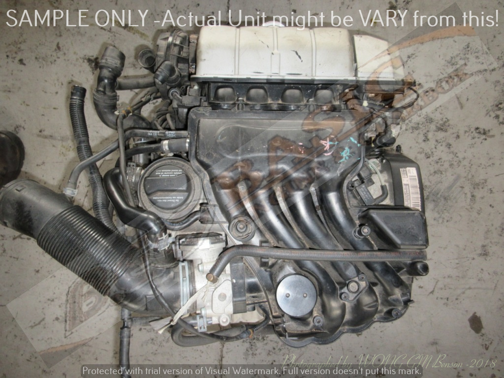 VOLKSWAGEN GOLF 4 -AZJ 2.0L EFI 8V Engine -GOLF IV, BEETLE