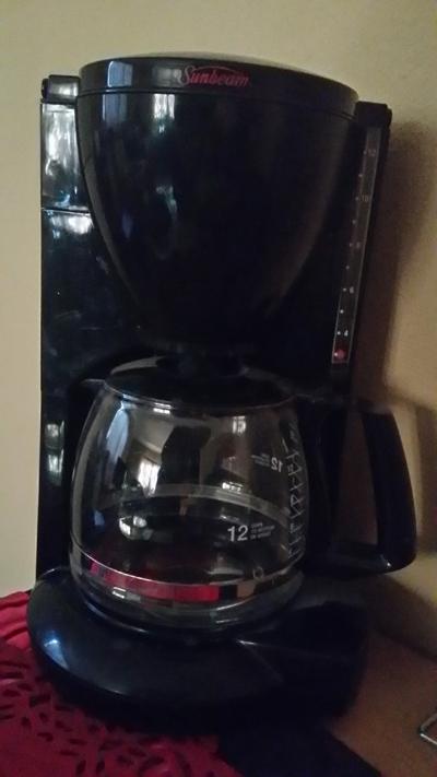 Sunbeam 12 cup coffeemaker