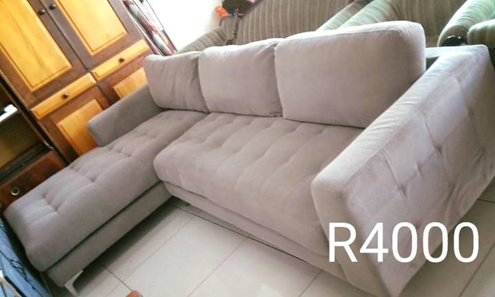 L Shape lounge suite for sale.