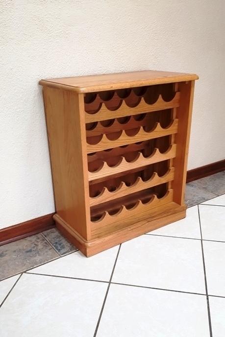 Wine Rack solid oak