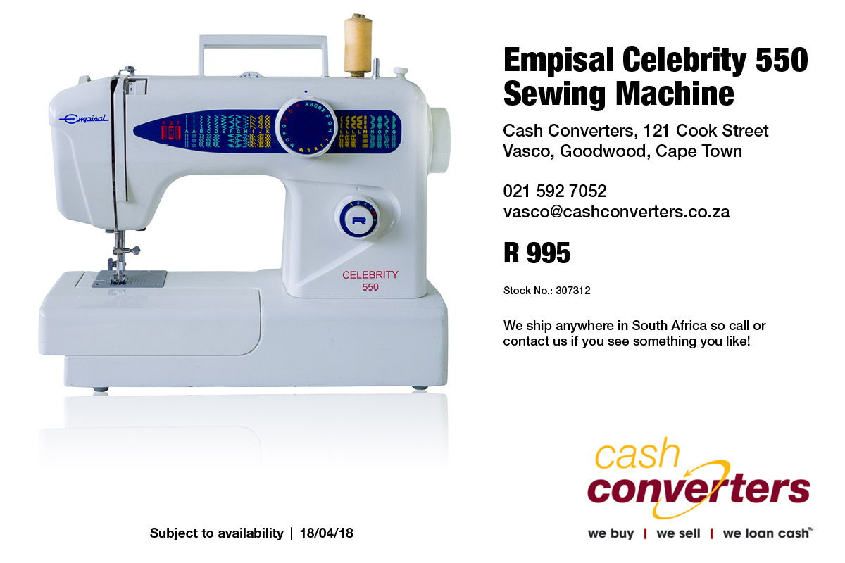 Empisal Celebrity 550 Sewing Machine