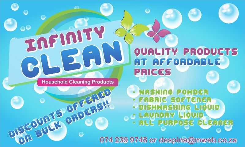 Bulk Supplier of Washing Powder and Household Cleaning Products
