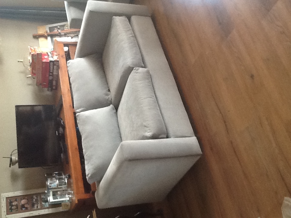 Two seater lounge couch