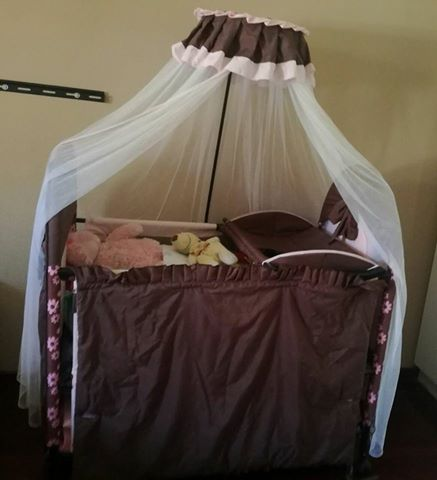Baby cot and carry cot