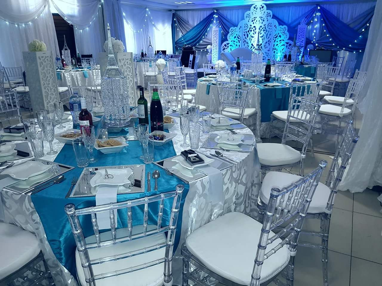 Wedding planning and decor services