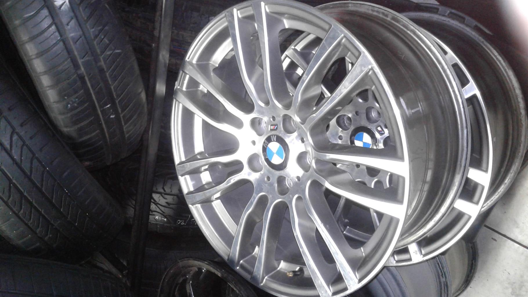 Bmw F30 Mag Rims Size 19 Aset Or Loose Junk Mail