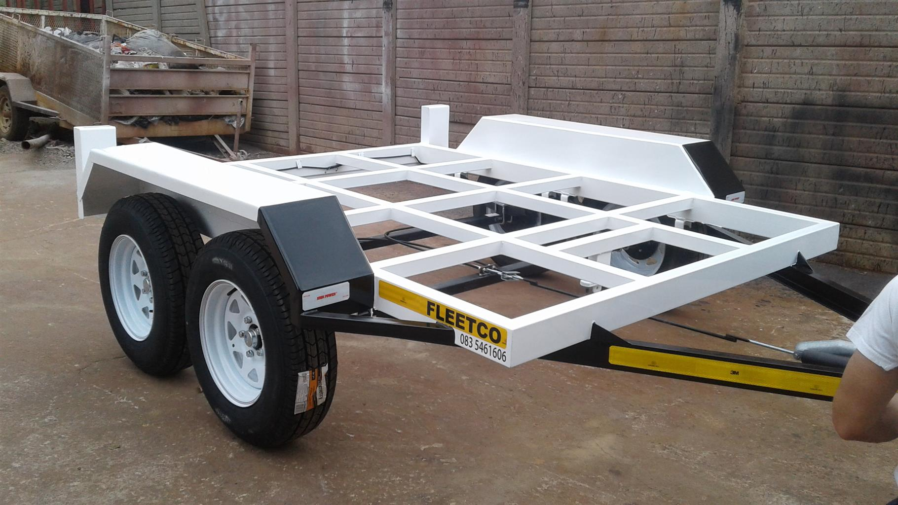 1.7M/2.350M SKELETON TRAILER ONLY ON ORDER TO BE BUILD