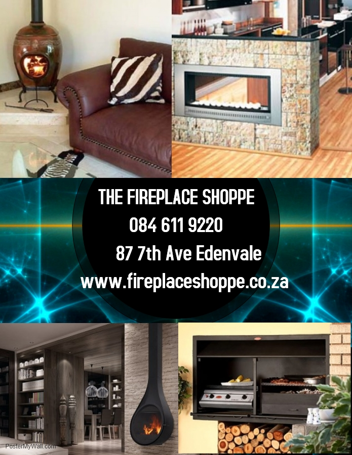 We Supply Fireplaces,Braai's, Pizza Ovens And Fireplace Surrounds