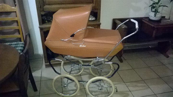Vintage 1950s Giordani Pram Stroller