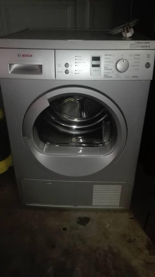 Bosch tumble dryer