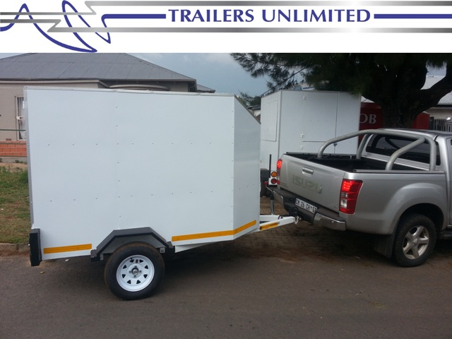 TRAILERS UNLIMITED THE ULTIMATE ENCLOSED TRAILER.