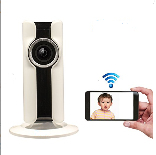 180° Nanny Camera with Live Viewing | Spy Shop SA