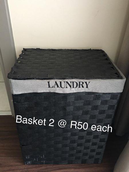 Laundry Basket X 2