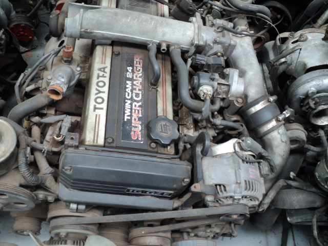 toyota twin cam 2.0 super charger engine R10950 | Junk Mail