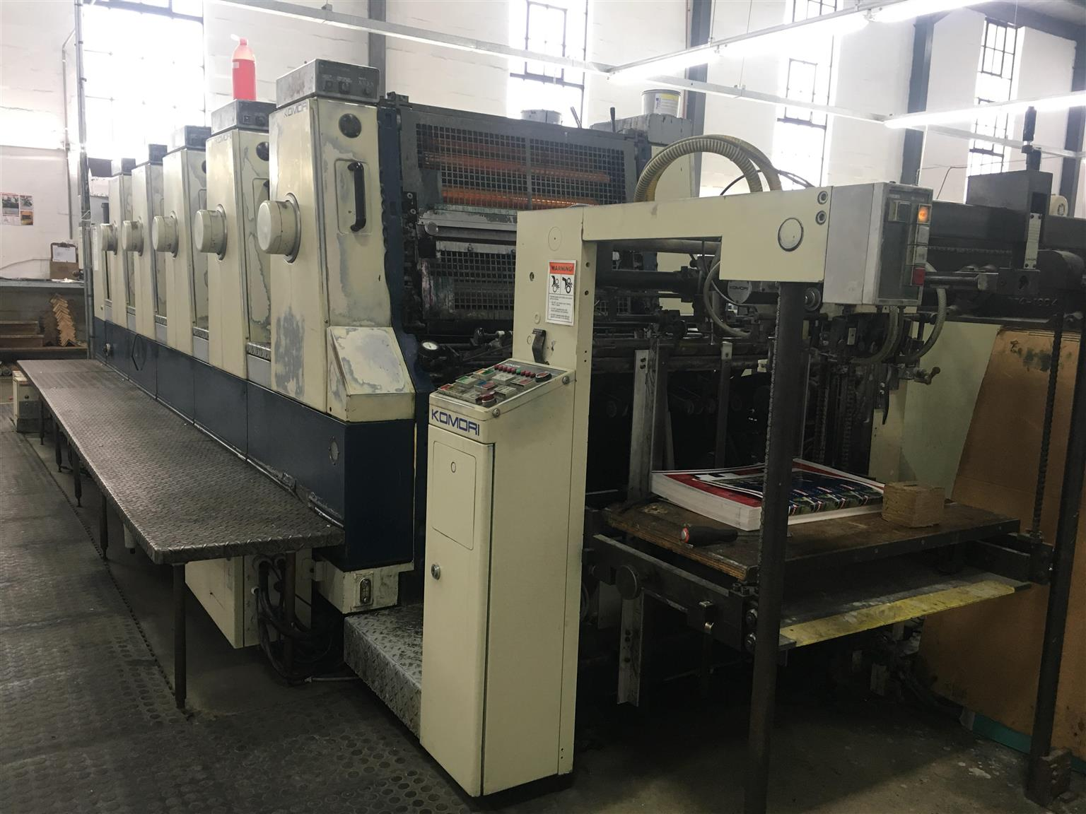 Komori Lithrone 28 Litho Printing Press