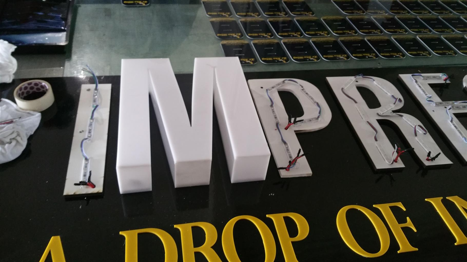 Signage, Laser cutting, rubberstamps, bussiness cards, shopsigns, perspex signs, Flyers,carwraps.