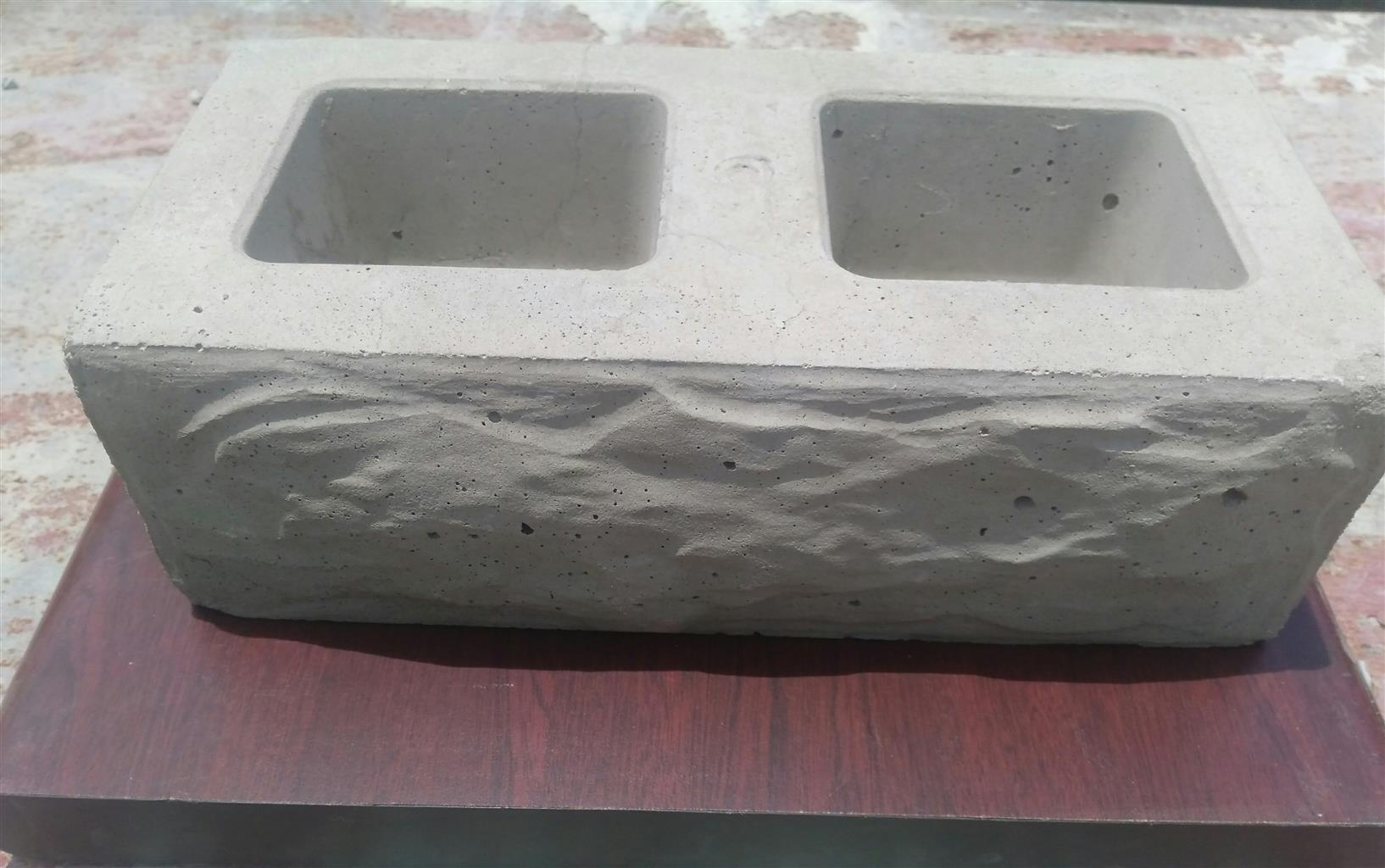 BEAUTIFUL SOLID Rock Design Front BLOCKS for Sale
