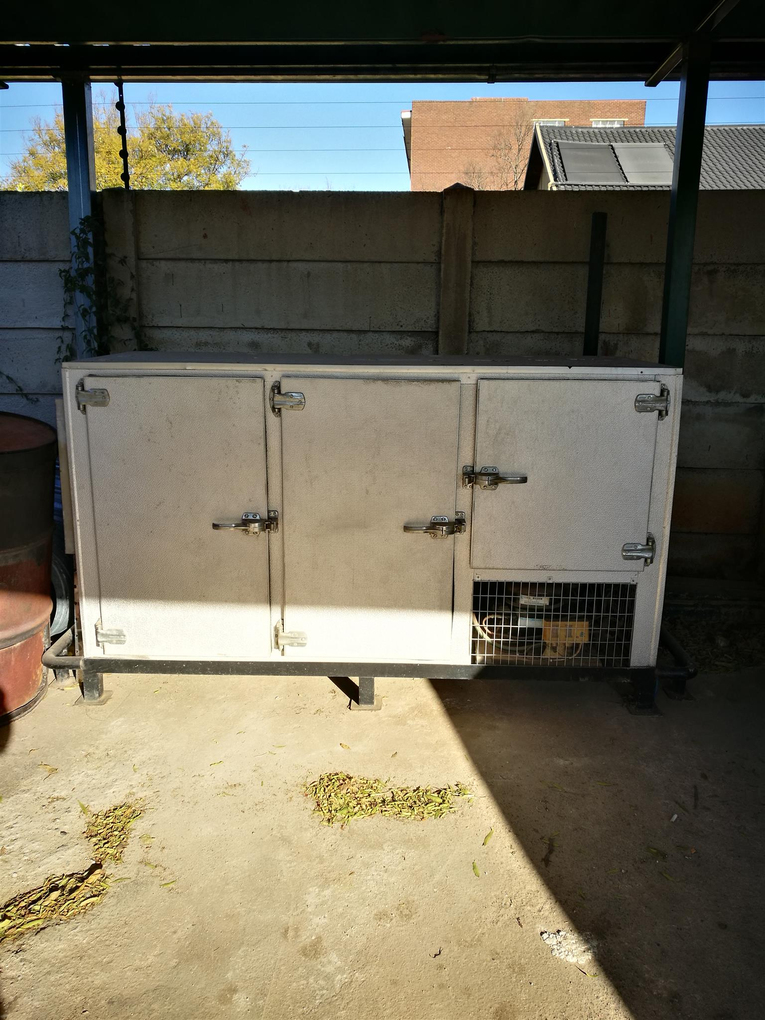 Smoker industrial for catering