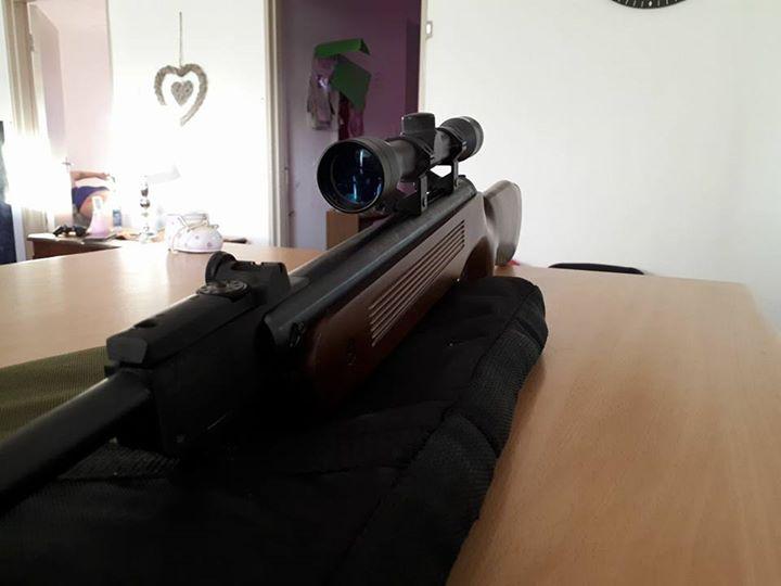 Air Rifle.