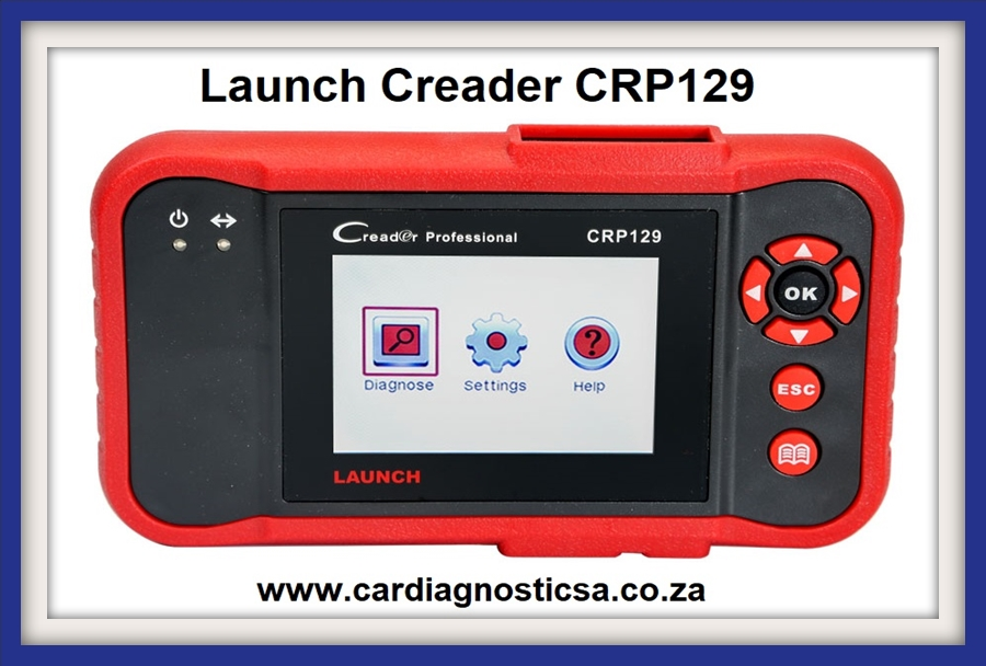 Car Diagnostic scanner: LAUNCH Creader CRP129 Professional Auto Code