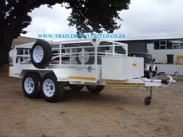4200 X 2000 X 900MM DOUBLE AXLE UTILITY TRAILER.