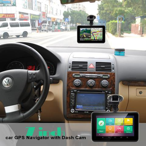 7 Inch Android GPS with Dash Cam- C391