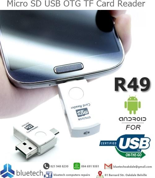 Micro SD USB OTG TF Card Reader