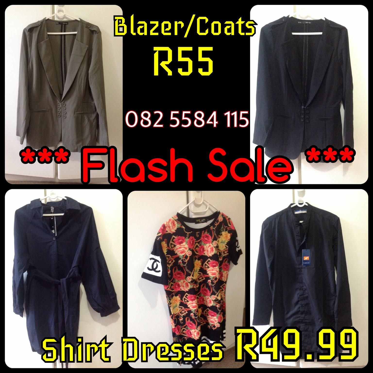 -Flash SALE on NEW Ladies Tops, Shirts, Blazers