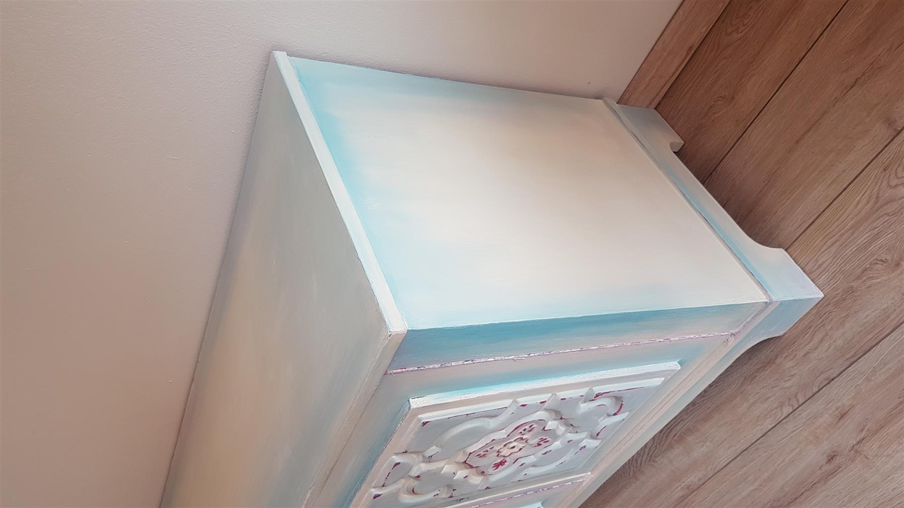 """Sea Breeze"" Chalk painted Sideboard"