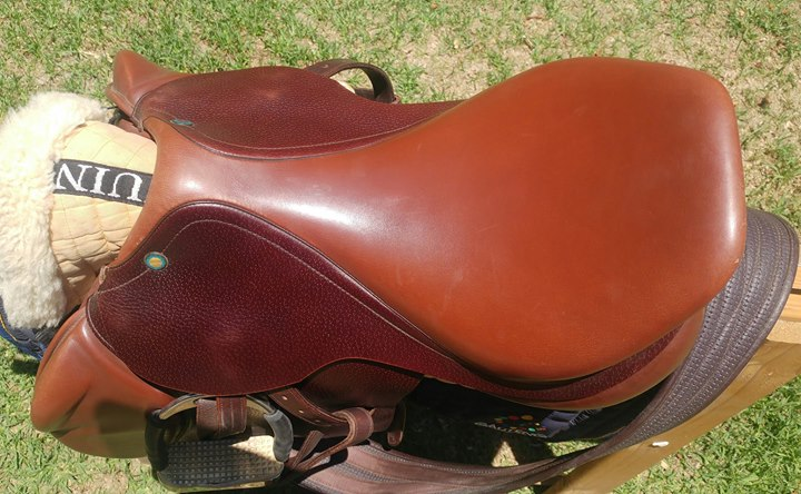PRESTIGE JUMPING SADDLE FOR SALE 16""