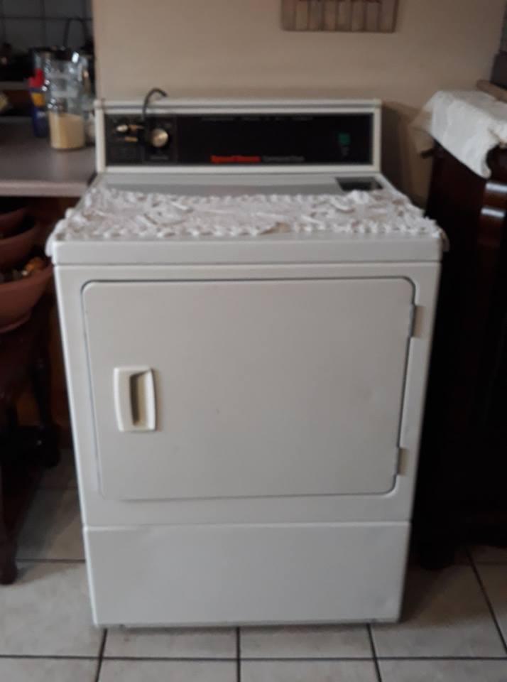 Speed queen commercial dryer