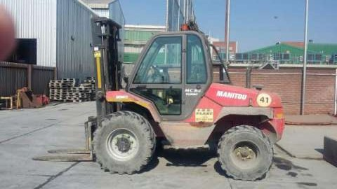 2011 Manitou MC30 rough terrain forklift