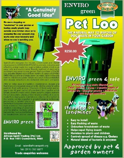 PET LOO (ENVIRO FRIENDLY)