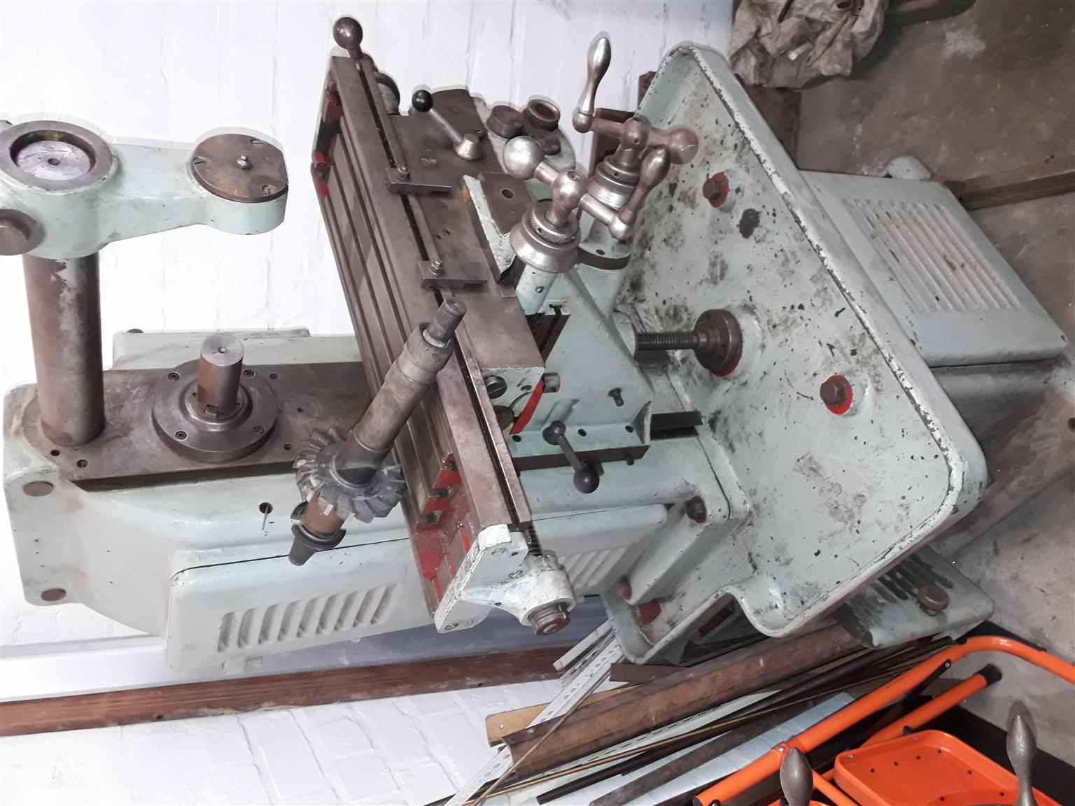 Adcock&Shipley Horizontal Milling Machine