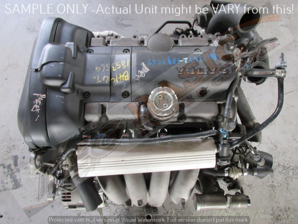 VOLVO S40 -B4194T2 1.9L TURBO EFI 16V Engine