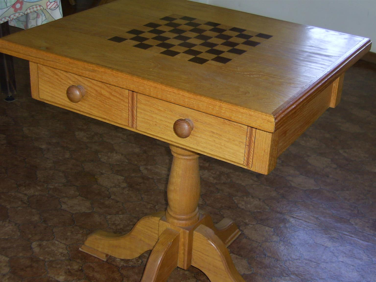 Chess Table - also other Furniture and Appliances