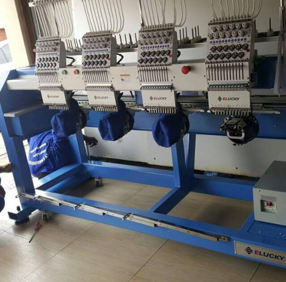 Embroidery Machine for Sale for R250000