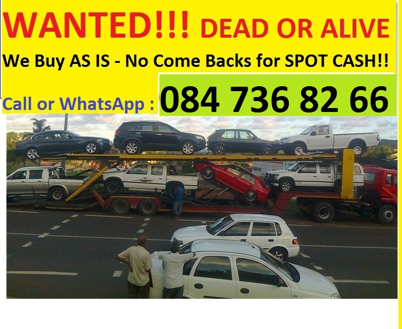 WE PAY SPOT CASH FOR CARS AND BAKKIES all over KZN | Junk Mail