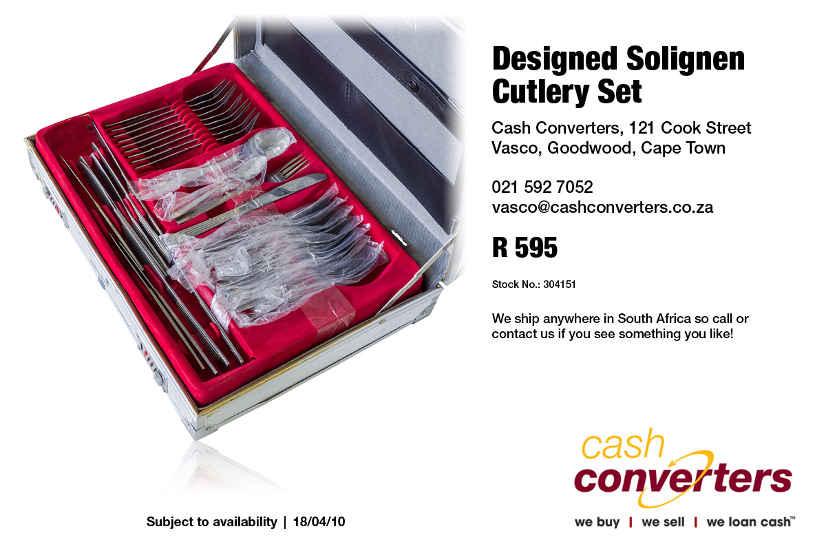 Designed Solignen Cutlery Set