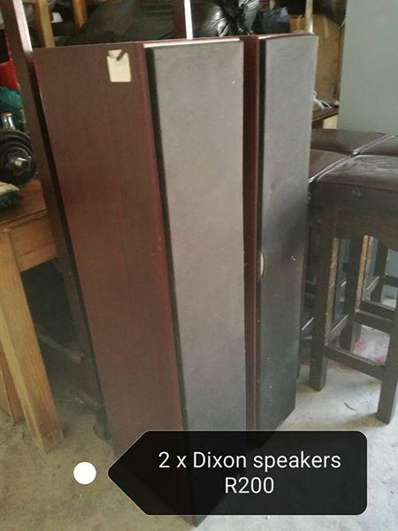 2 Dixon speakers