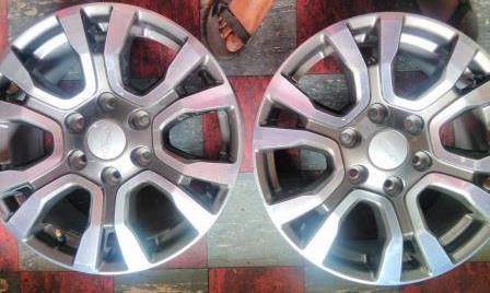 New FORD WILDTRAK  18 inch Mags and Tyres 265/60/R18 Continentals {set of 4} for R11,500.