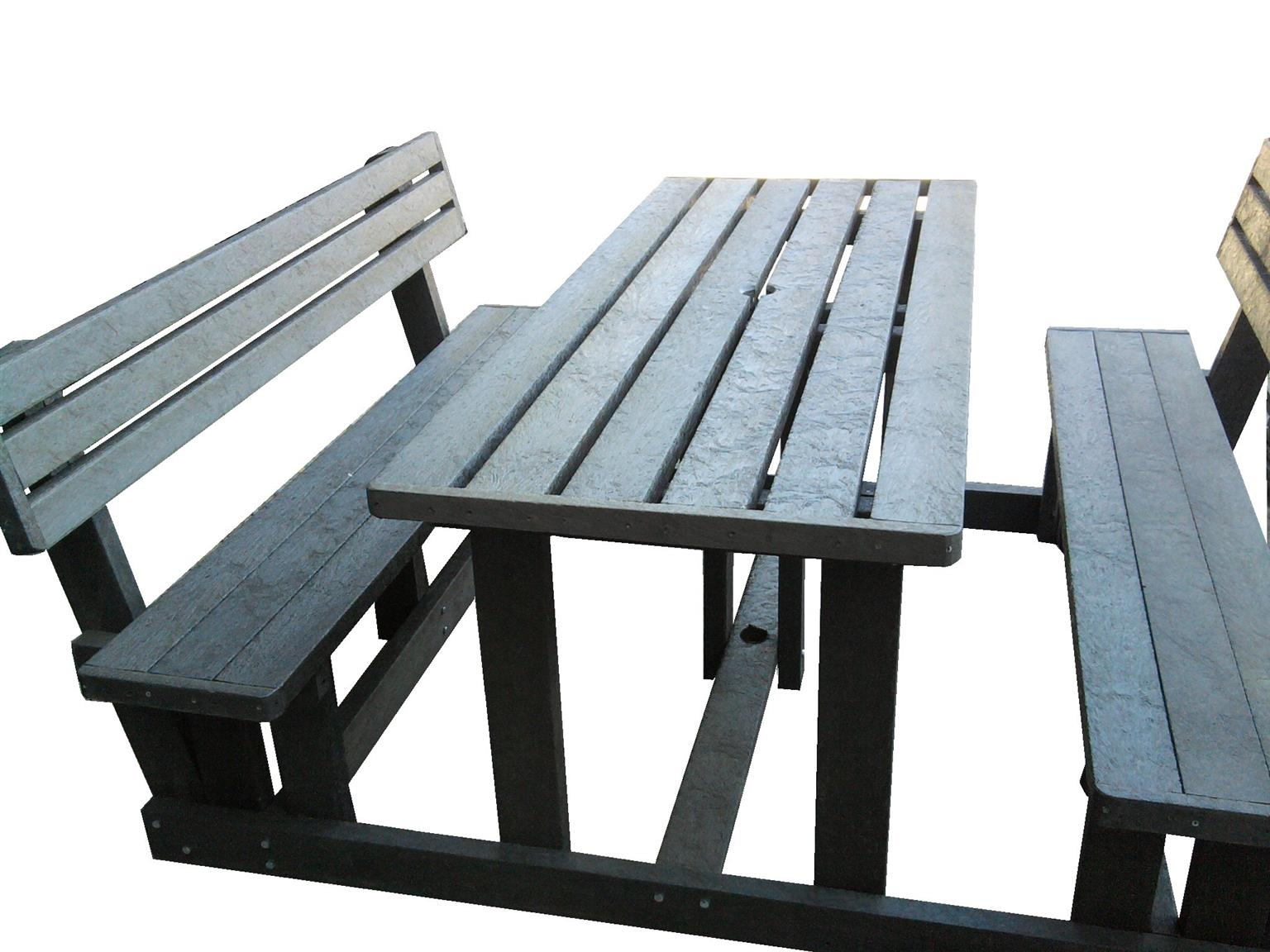 Plastic Outdoor Furniture Looks Like Wood