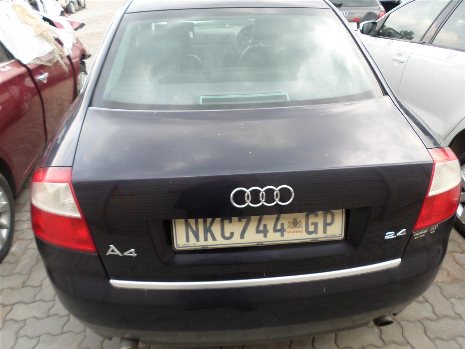 Audi A4 2.4 multitronic automatic 2002 stripping for all parts