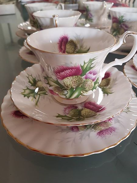 Royal Albert Highland Thistle for sale
